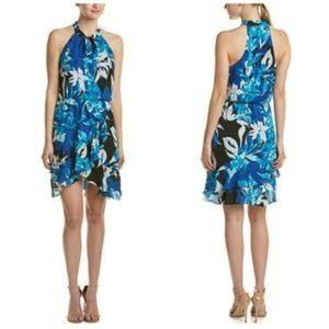 NWT Parker Floral Diane Halter Dress